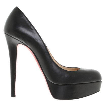 Christian Louboutin Plateau-Pumps in zwart