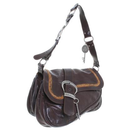 "Christian Dior ""Gaucho Saddle Bag"" in Braun"