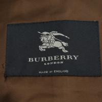 Burberry Gemusterter Mantel in Braun