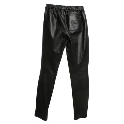 Maje Leather pants in black