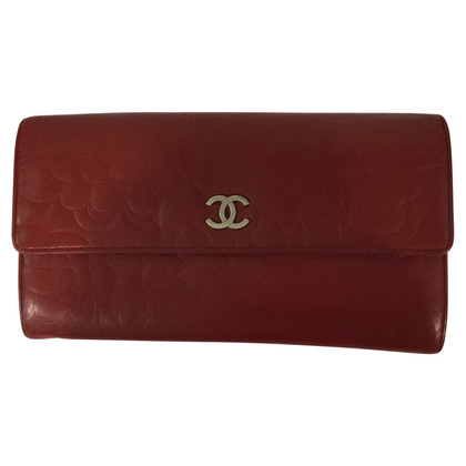 Chanel Wallet in red