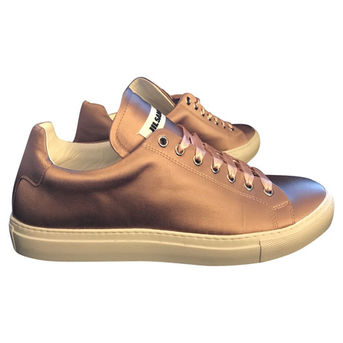 Jil Sander Leather and Canvas Sneakers Gr. EU 40