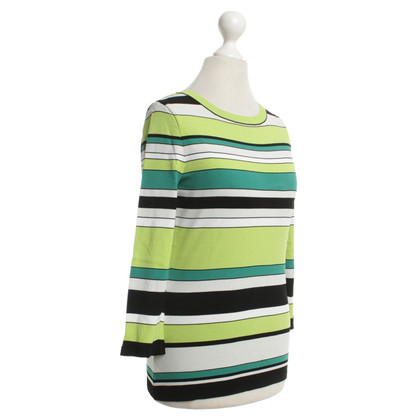 Marc Cain Longshirt with striped pattern