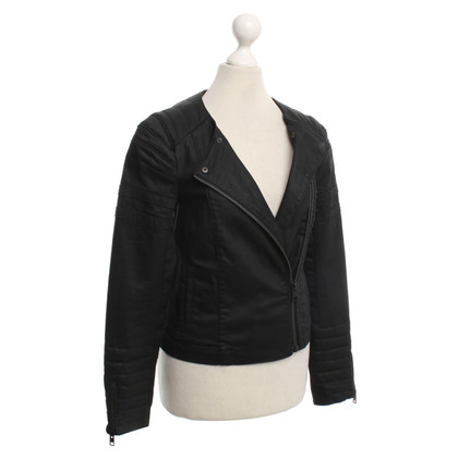 All Saints Jacke in Schwarz