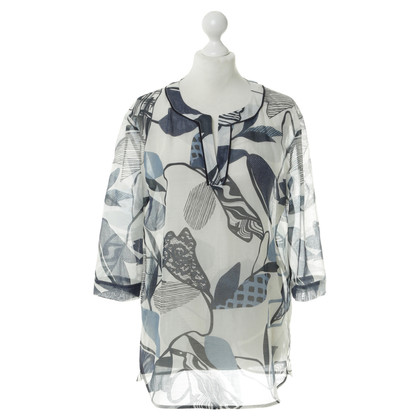 Luisa Cerano Gedessineerde tuniek blouse