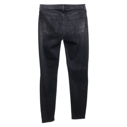7 For All Mankind Jeans in vernietigde look