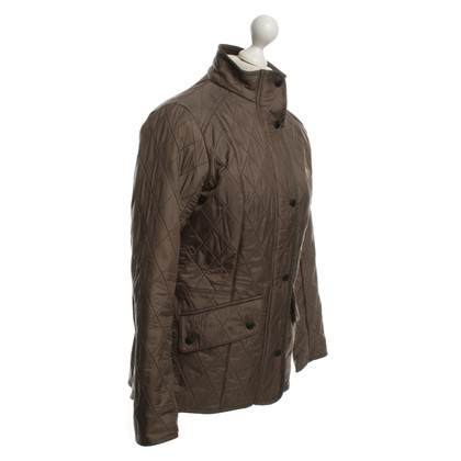 Barbour Steppjacke in Olivgrün