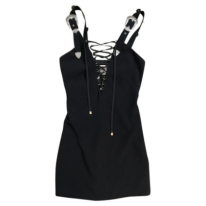 Fausto Puglisi Mini dress with lacing and studs