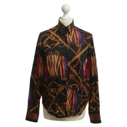 Ralph Lauren Hemdbluse mit Trensen-Muster
