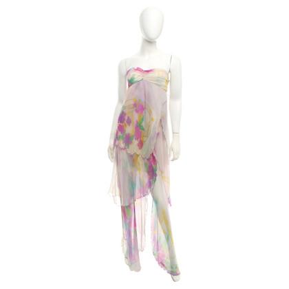 Patrizia Pepe Lange jurk met print