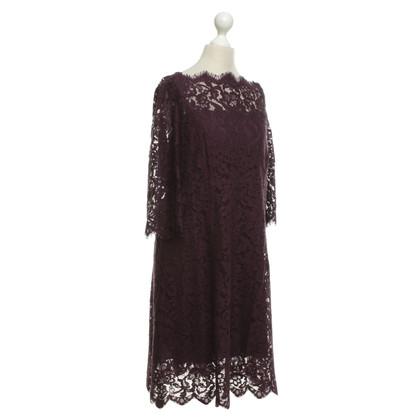 Dolce & Gabbana abito di pizzo in viola