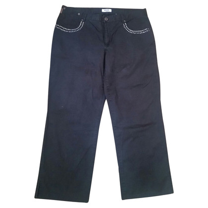 Moschino Trousers in black cotton