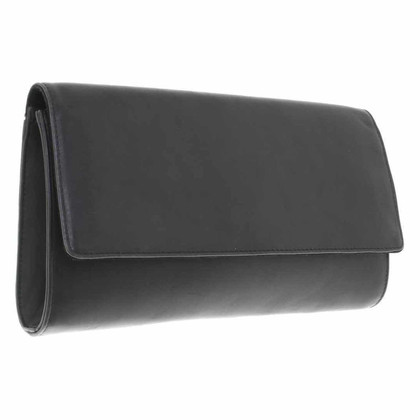 Max Mara clutch in nero