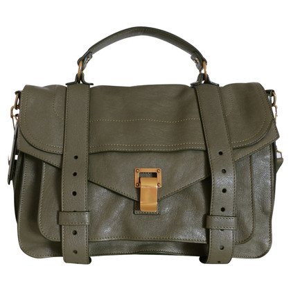 Proenza Schouler PS 1 Medium in Khaki