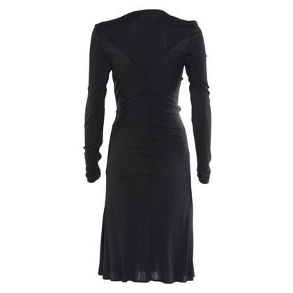 Versace Long sleeve dress in viscose / silk