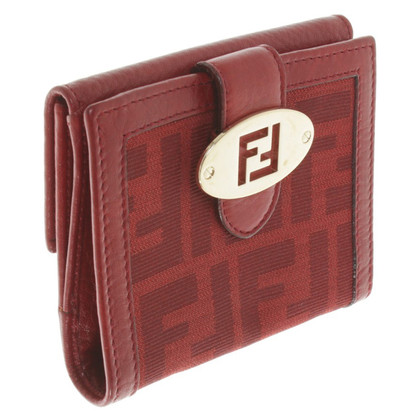 Fendi Wallet in red