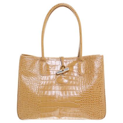 Longchamp Hand bag in mustard yellow