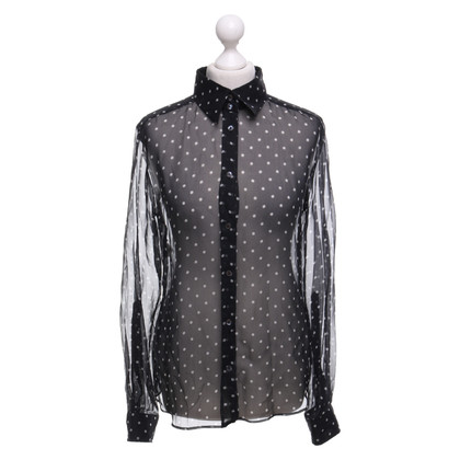 Dolce & Gabbana Shirt blouse with dots pattern