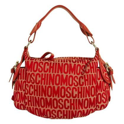 Moschino Love Red Hobo Bag