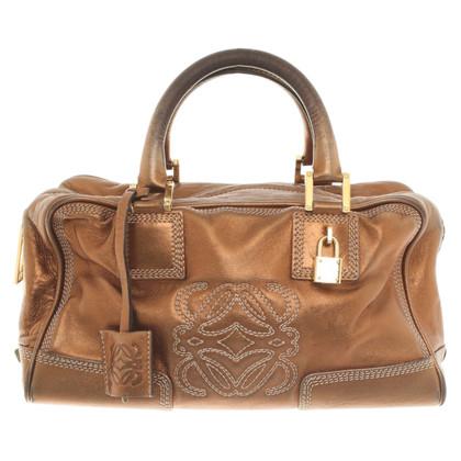 Loewe Handtasche in Kupfer