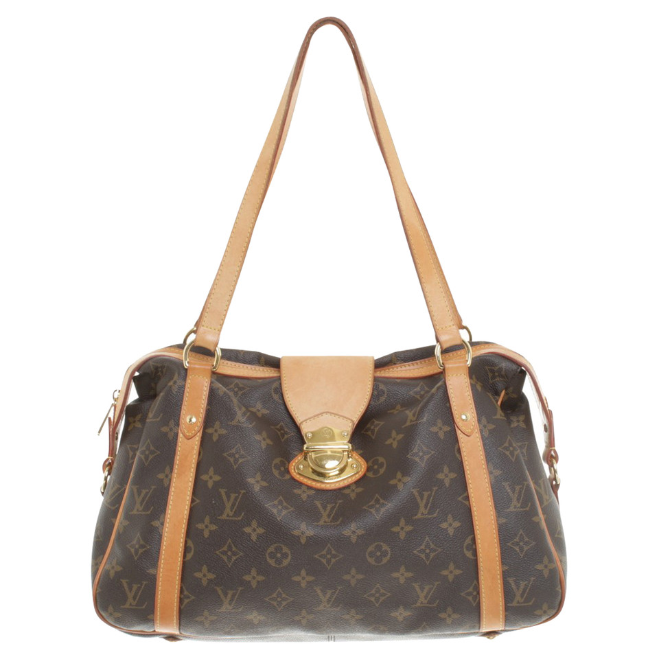 louis vuitton bag with monogram canvas buy second hand louis vuitton bag with monogram canvas. Black Bedroom Furniture Sets. Home Design Ideas