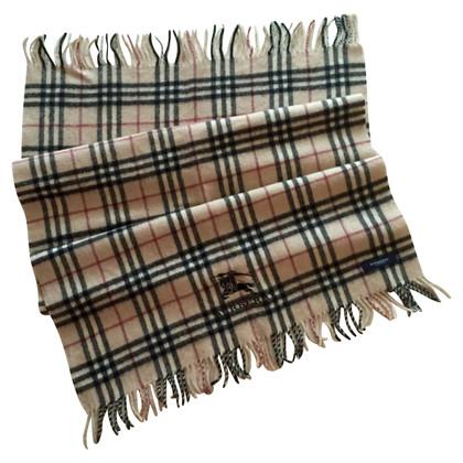 Burberry sciarpa di lana in beige