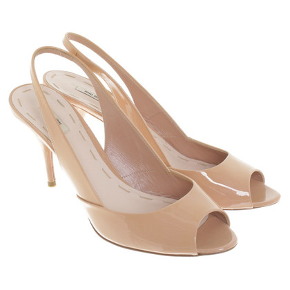 Miu Miu pumps in Nude