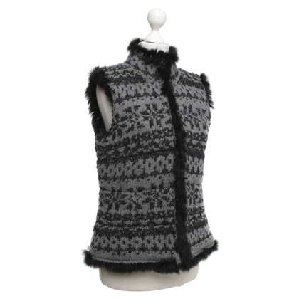 Bogner Vest in grey / black