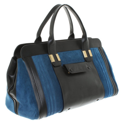 "Chloé ""Alice Bag"" in black / blue"