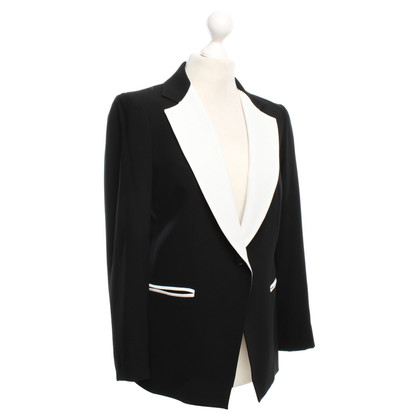 DKNY Blazer in zwart / White