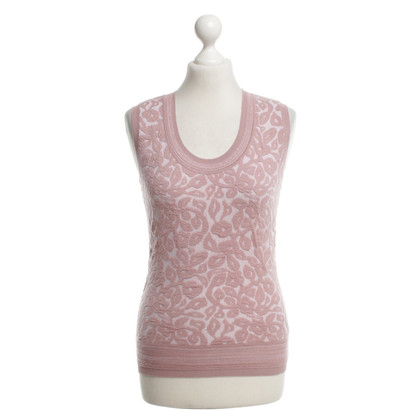 Escada Sweater with floral pattern