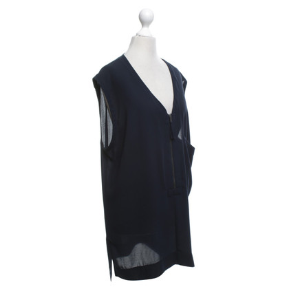 DKNY Top in blu scuro