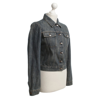 Hugo Boss Stonewashed jeans jacket in blue