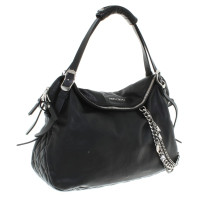 Jimmy Choo Leather handbag in black