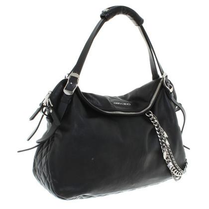 Jimmy Choo sac à main en cuir noir