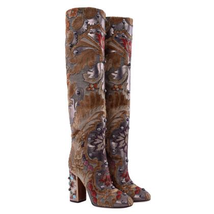 Dolce & Gabbana Laarzen met studs