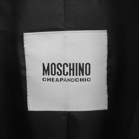 Moschino Cheap and Schwarz Chic Cheap Wolle Blazer aus Moschino wSpqnz