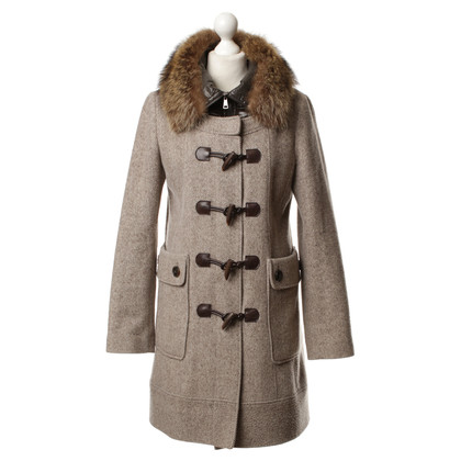 Mabrun Coat with fur collar