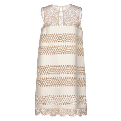 Just Cavalli Leather dress with lace