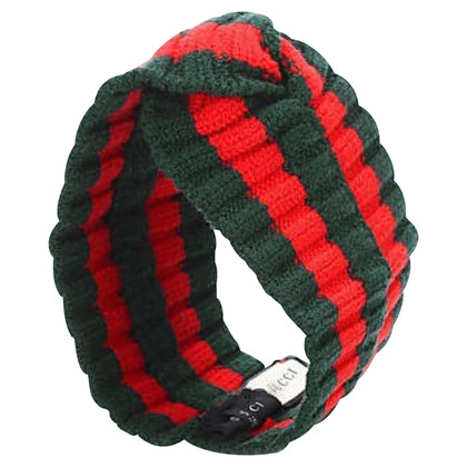 Gucci Headband in green / red
