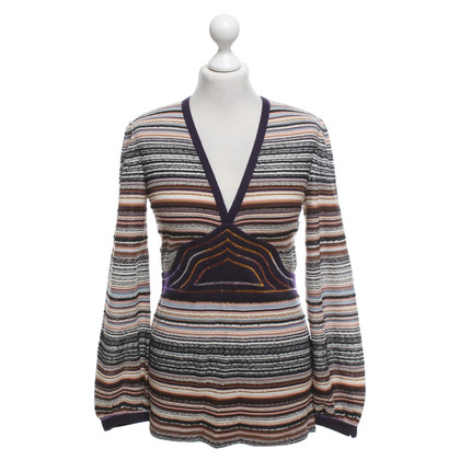 Missoni Knit shirt with stripe pattern