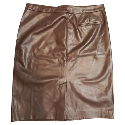 Joseph Imitation leather skirt