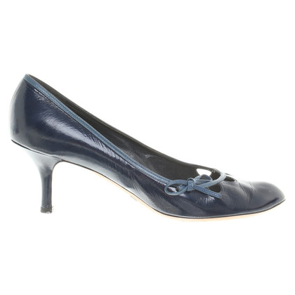 Marc Jacobs pumps in dark blue