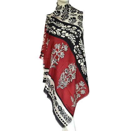 Burberry Cashmere scarf with pattern