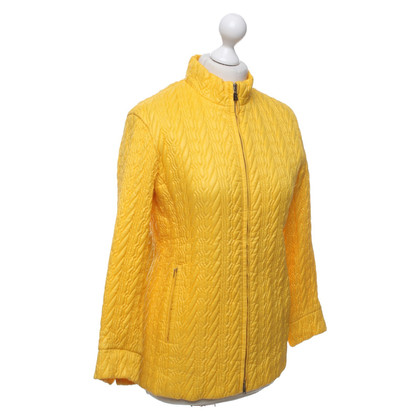 Bogner Quilted jacket in yellow