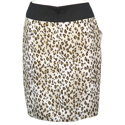 Reiss skirt with Leopard print