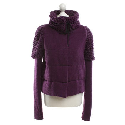 Red Valentino Strickjacke in Violett