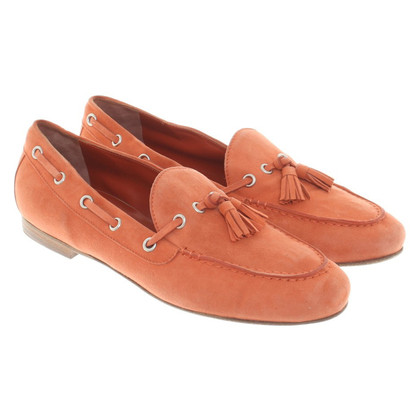 Walter Steiger Loafer in Orange