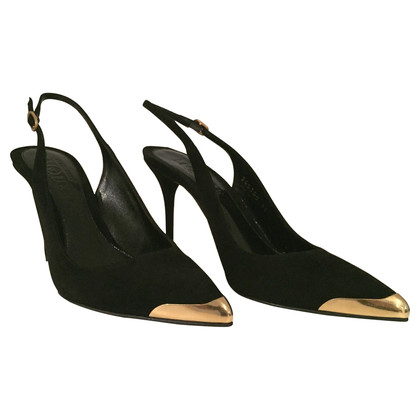 Alexander McQueen Slingback Pumps with metal tip