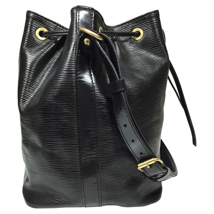 "Louis Vuitton ""Petit Noé EPI leather"" in black"